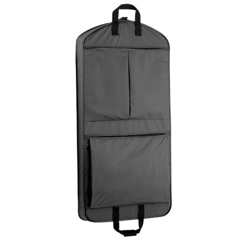 Wallybags 45-Inch Suit Length, Carry-On, Xl Garment Bag With Two Pockets And Extra Capacity