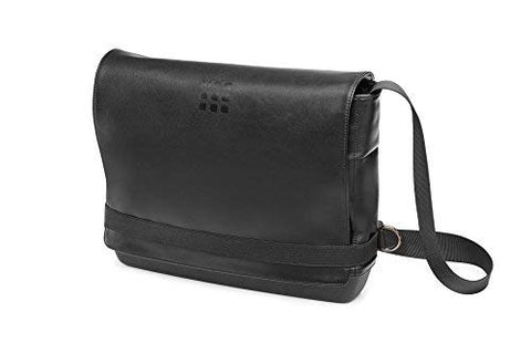 Moleskine Classic Slim Messenger Bag, Black
