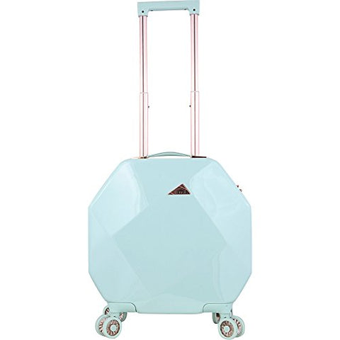 "Kensie Luggage Gemstone 20"" Dual Spinner Carry-On with TSA Lock (Mint)"