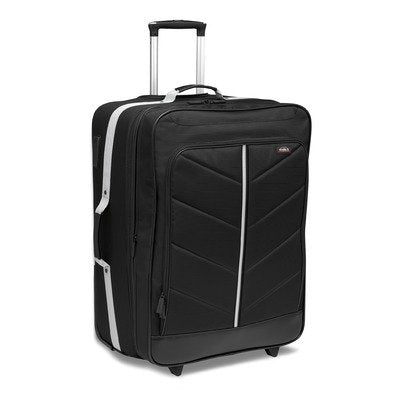 "Studio H By Hartmann Zoom Expandable 24"" Mobile Traveler Upright Luggage - Black"