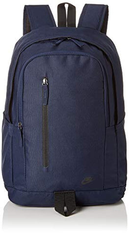 Nike Unisex NK All Access Soleday Bkpk-S Rucksack, Blue (Obsidian/Black), One Size