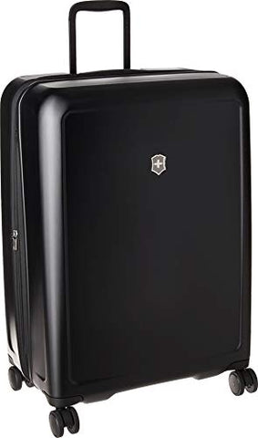 Victorinox Connex Large Hardside Checked Spinner Luggage (Black)