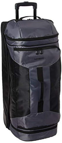 Samsonite Andante 2 Boxed Drop Bottom Wheeled Duffel 32, Riverrock/Black