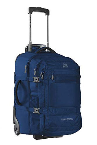 Granite Gear Cross Trek 2 Wheeled Carry-On with 28L Removeable Backpack - Midnight Blue/Flint 22""