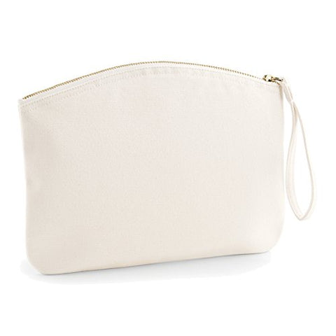 Westford Mill Earthaware Spring Wristlet Toiletry Bag - Natural - S