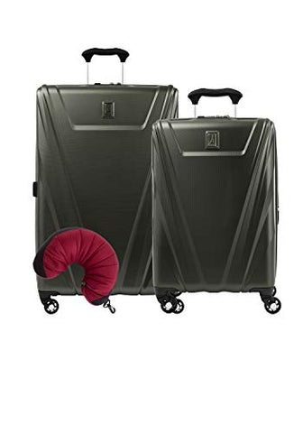 Travelpro Maxlite 5 Hardside 3-Pc Set: Exp. C/O And 29-Inch Spinner With Travel Pillow (Slate
