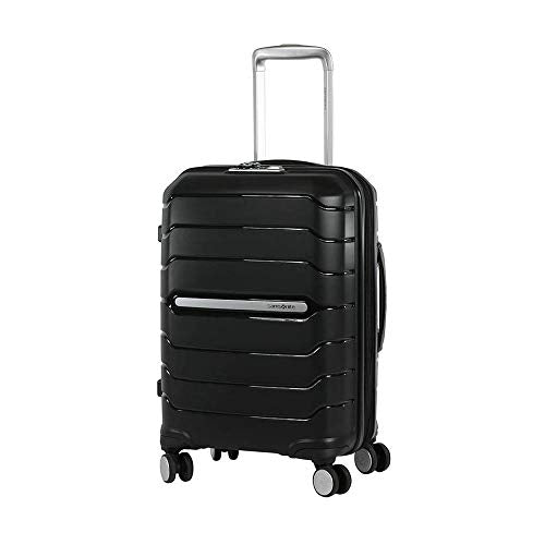 Samsonite Octolite Spinner Carry-On Luggage Medium Black Suitcase