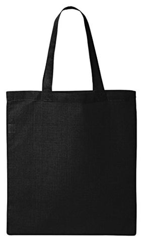 Valubag Womens Economical Tote Bag Qtb -Black One Size