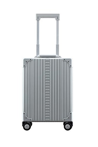 "Aleon 20"" Vertical Carry-On Aluminum Hardside Luggage Or Business Briefcase (Platinum) Sliver"