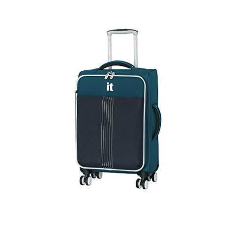 "It Luggage Filament 21.5"" 8 Wheel Spinner, Moroccan Dress Blues"