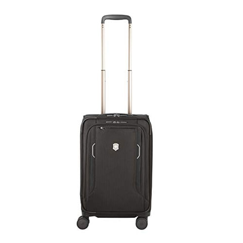 Victorinox Werks Traveler 6.0 Frequent Flyer Softside Carry-On, Black