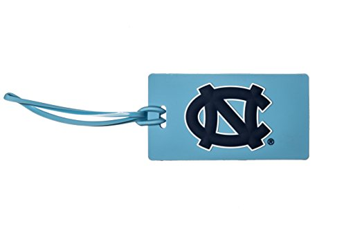 North Carolina Tarheels Ncaa Pvc Luggage Tag