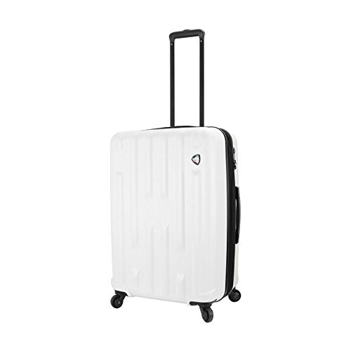 "Mia Toro M1230-24in-Wht Italy Nuovo Hardside 24"" Spinner, White"