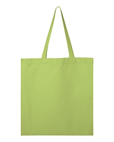 Valubag Q800 Men'S Canvas Promotional Tote Lime One Size