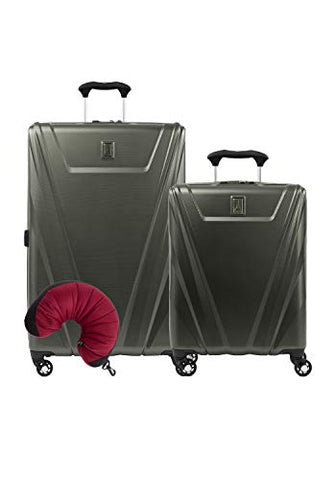 Travelpro Maxlite 5 Hardside 3-Pc Set: Int'L C/O And Exp. 29-Inch Spinner With Travel Pillow (Slate