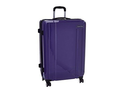 "Calvin Klein Beacon 28"" Expandable Hardside Spinner, Purple"
