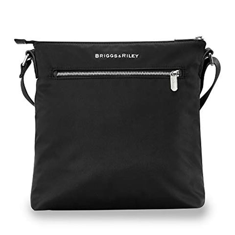 Briggs & Riley Unisex-Adult's Rhapsody Cross Body, Black, One Size