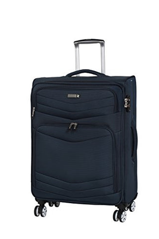 "It Luggage Intrepid 26.6"" 8 Wheel Spinner, Dress Blues"