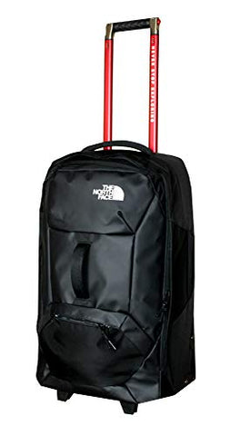 The North Face Accona 26 Carry-Ons Luggage Travel Rolling Bag RTO (Tnf Black)