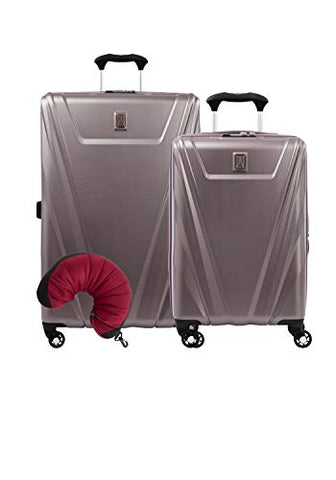 Travelpro Maxlite 5 Hardside 3-Pc Set: Carry-On And 29-Inch Spinner With Travel Pillow (Dusty Rose)