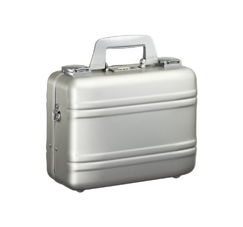 Zero Halliburton Small Aluminum Camera Case, Silver, One Size