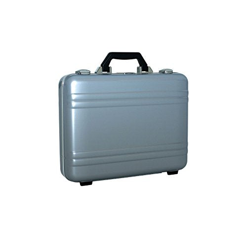 Zero Halliburton Classic Polycarbonate Framed Attache Case in Silver ZPA15