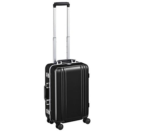 "Zero Halliburton Classic Polycarbonate 2.0 19"" Carry on 4-Wheel Spinner ZRF219 (BLACK)"