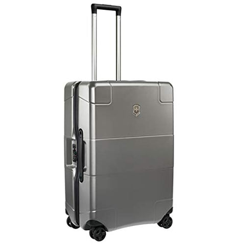 Victorinox Lexicon Hardside Medium 8-Wheel Travel, Titanium