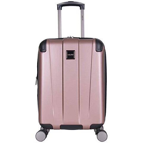 Reaction Kenneth Cole Continuum Rose Gold Carry On Spinner Suitcase - 20 Inch