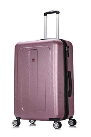 DUKAP Luggage Crypto Lightweight Hardside Spinner 28'' inches Rose Gold