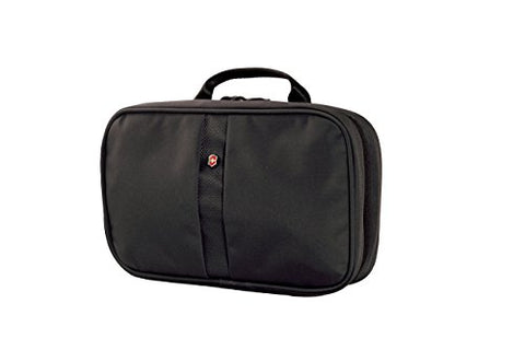 Victorinox Zip-Around Travel Kit, Black Logo