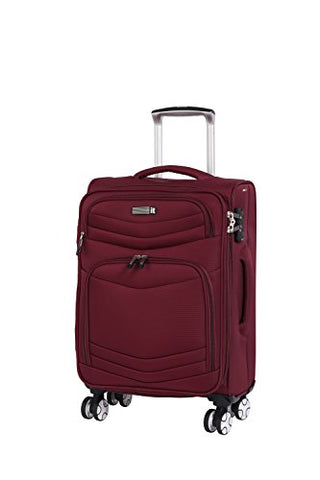 "it luggage Intrepid 22"" 8 Wheel Spinner, Dark Red"
