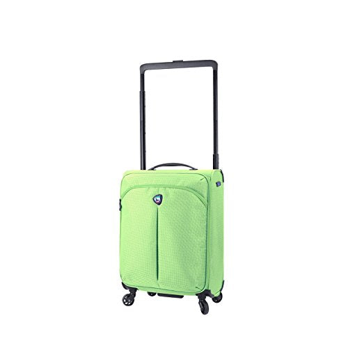 "Mia Toro M1128-20in-Lim Italy Kitelite Nimbo Hardside Spinner 20"" Carry-on, Lime"