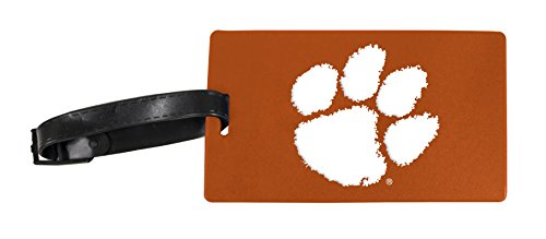 Clemson Tigers Luggage Tag 2-Pack