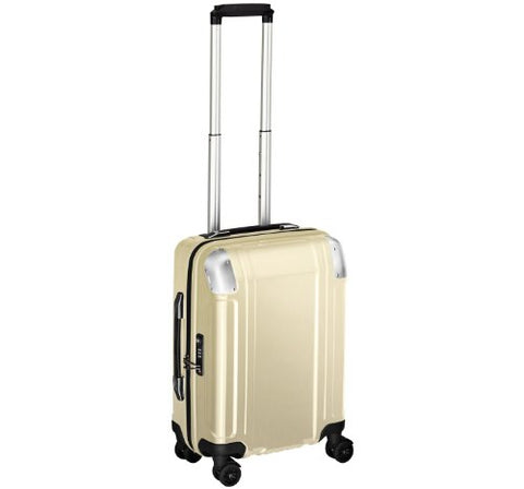 Zero Halliburton Carry-on 4 Wheel Spinner Travel Case (GOLD)