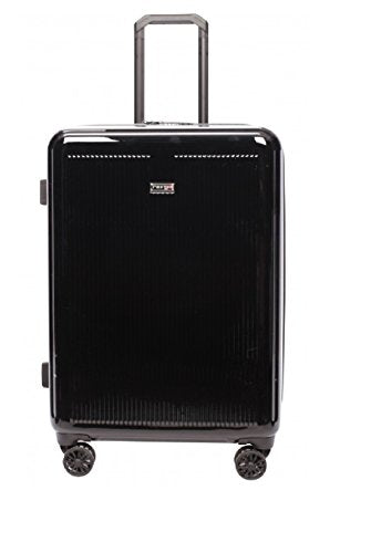 "Revo Luna 26"" Medium Expandable Spinner Luggage 19105-26 (Black)"