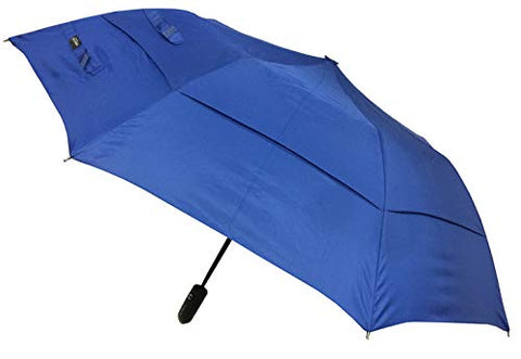 London Fog Windguard Sport Auto Open Close Umbrella, Navy