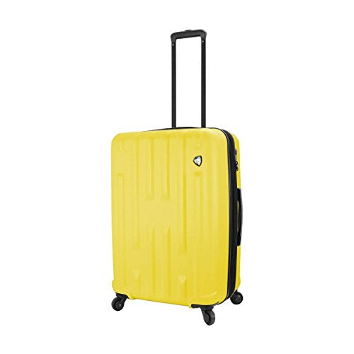 "Mia Toro M1230-24in-ylw Italy Nuovo Hardside 24"" Spinner, Yellow"