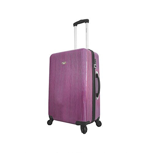 Viaggi Murano Hardside 24 Inch Spinner, Pink, One Size