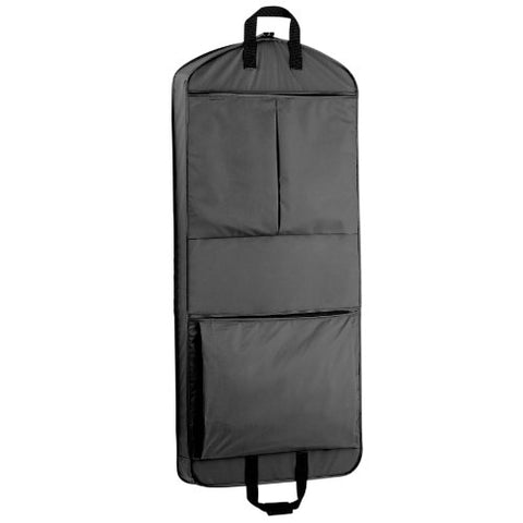 Wallybags 52-Inch Dress Length, Carry-On, Xl Garment Bag With Two Pockets And Extra Capacity