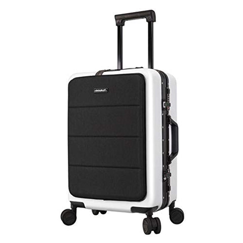 Boarding Luggage Universal Luggage Expandable Suitcase PC+ABS with TSA Lock Spinner 20inches Carry-on Uprights Suitcase 360° Silent Spinner Multidirectional Wheels Airplane Flight And Check In