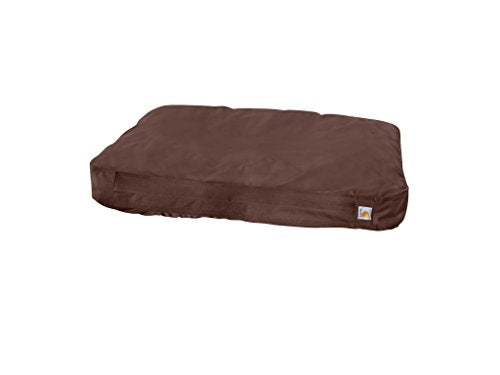 Carhartt Gear 100550 Duck Dog Bed - Large - Dark Brown