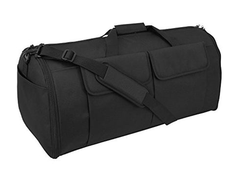 Code Alpha Hybrid Garment Duffel Bag, Black