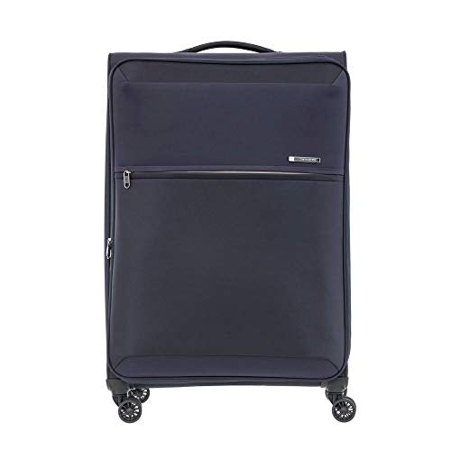 Samsonite 72H DLX Spinner Unisex Medium Blue Polyamide Luggage Bag TSA Approved DC6041002