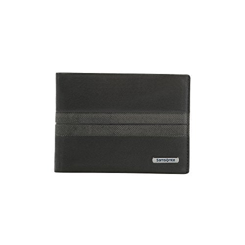 Spectrolite SLG - Billfold for 8 Creditcards, 2 Compartments Credit Card Case, 13 cm, 0 liters, Black (Black/Night Blue)