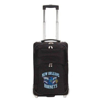 NBA New Orleans Hornets 21-Inch Carry On Luggage, Black