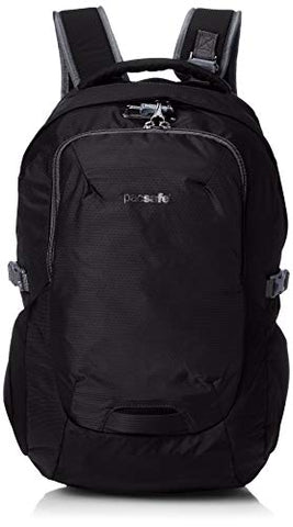 Pacsafe Venturesafe G3 25 Liter Anti Theft Travel Backpack / Daypack - Fits 17 inch Laptop, Black