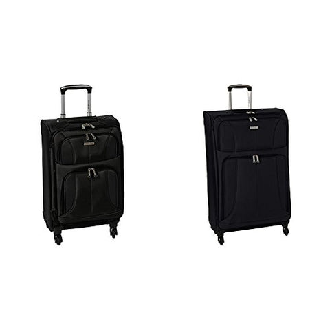 "Samsonite Aspire Xlite Two-Piece Spinner Set (20""/25""), Black"