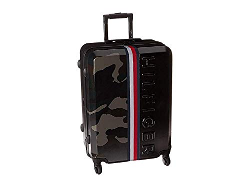 "Tommy Hilfiger Unisex 25"" Vintage Sport Upright Suitcase Black/Camo One Size"