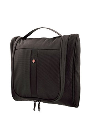 Victorinox Hanging Cosmetic Case, Black/Red Logo